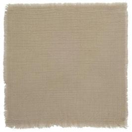 IB Laursen Stoffserviette / Serviette doppelt gewebt Sand