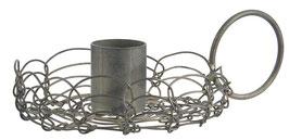 Ib Laursen Kerzenhalter / Kerzenständer für Stabkerze Filigran