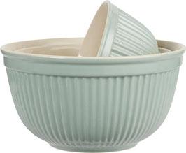 IB Laursen große Salatschale / Schüssel aus dem 3er Satz Mynte Green Tea