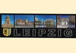 Magnet/ Leipzig mit 4 Ansichten/ quer