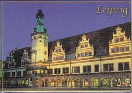 Magnet/ Altes Rathaus bei Nacht
