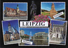 Magnet/ Leipzig mit 5 Ansichten