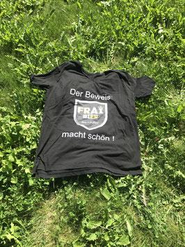 """FRAIBIER Shirt """"macht schön"""""""