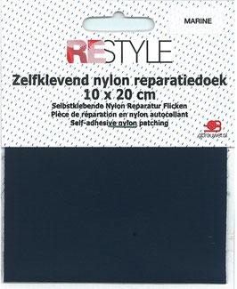 Zelfkevend nylon reparatiedoek donker blauw