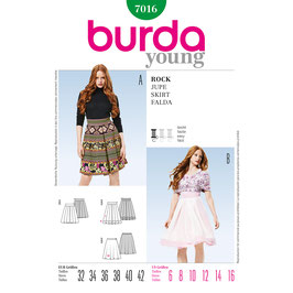 Burda patroon nr: 7016