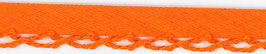 Oranje biasband met een kantje