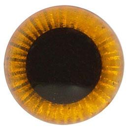 Veiligheidsogen uilenogen 12 mm oranje