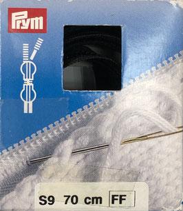 Prym rits zwart S9 70cm