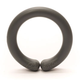 Durable speelgoedring met opening donker grijs