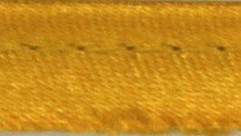 Goud paspelband van satijn