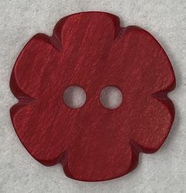 Rode bloemknoop 2 gaats