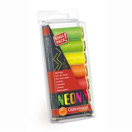 Neon Gütermann garen bonus pack