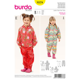Burda patroon nr: 9378