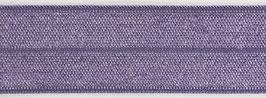 Biaisband elastisch paars
