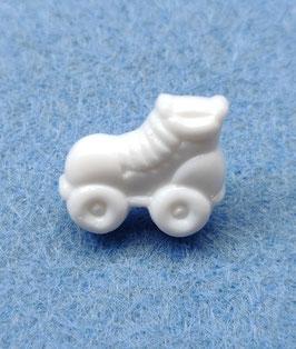 Witte rolschaats knoopjes