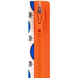 Oranje rits met kunststof bloktand