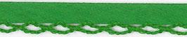 Groen biasband met een kantje
