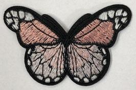 Grote vlinder applicatie licht roze