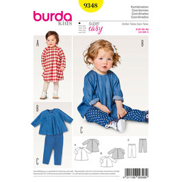 Burda patroon nr: 9348