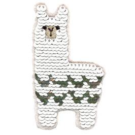 Alpaca pailletten applicatie