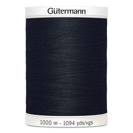 1000 meter Gütermann allesnaaigaren zwart Col. 000