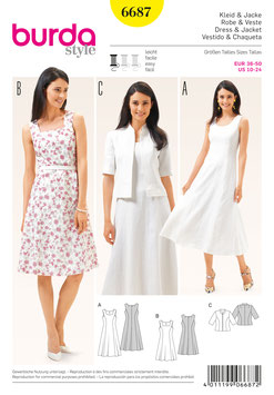 Burda patroon nr: 6687