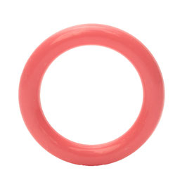 Durable speelgoedring dicht roze 40 mm