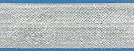 Biaisband elastisch off-white