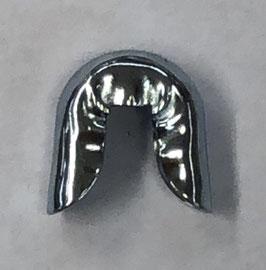 Metalen eindkapje voor baleinen 5 mm breed