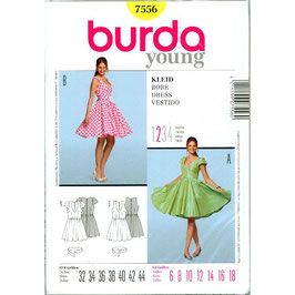 Burda patroon nr: 7556