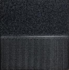 Zwart plakbaar 10cm breed klittenband prijs per 25cm