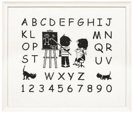 Jip & Janneke alfabet borduurpakket