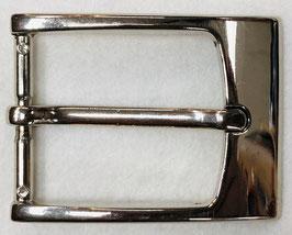 Metalen gesp rechthoek glans metaal nr:315