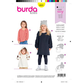 Burda patroon nr: 9331