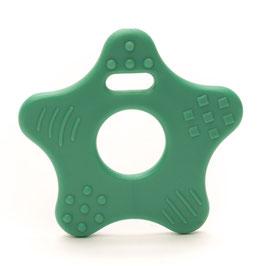 Donker groene ster bijtring van Durable.