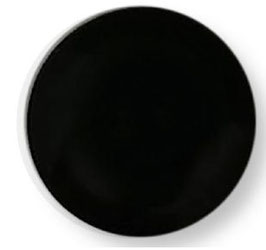 Basis knoop mat 000 zwart