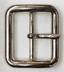Metalen gesp rechthoek glans metaal nr:943
