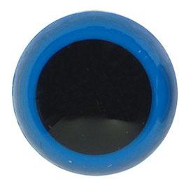 Veiligheidsogen 18 mm blauw