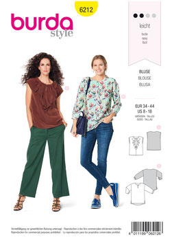 Burda patroon nr: 6212