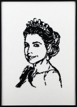 Koningin Maxima telpatroon