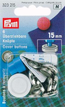 Zelf stoffeerknopen maken 15 mm