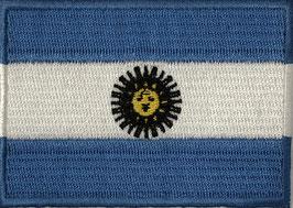 Vlag applicatie van Argentinië