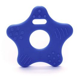 Donker blauwe ster bijtring van Durable.