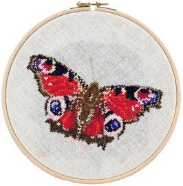 Vlinder borduurring