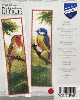 Bladwijzer borduurpakket van een koolmees