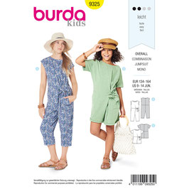 Burda patroon nr: 9325