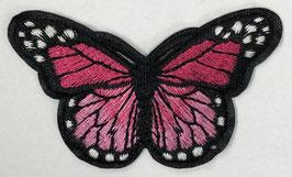 Grote vlinder applicatie fuchsia
