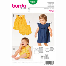 Burda patroon nr: 9358