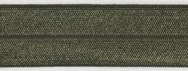 Biaisband elastisch leger groen