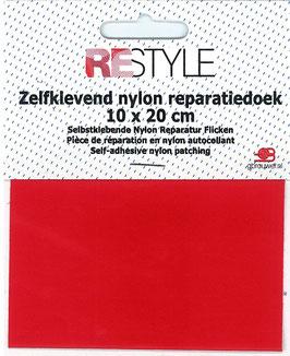 Zelfkevend nylon reparatiedoek rood